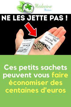 Ces petits sachets peuvent vous faire économiser des centaines d'euros  #silice #santé #astuce #maison #utilisation