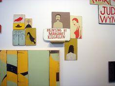Margaret Kilgallen- installation