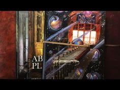 Mixed Media Art Journal Flips - YouTube