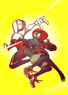 Spider-Gwen & Miles Morales