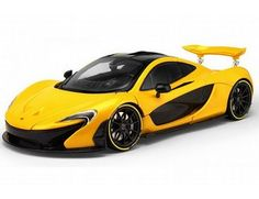 The TrueScale Minitatures 1/12 McLaren P1 2013 In Volcano Yellow is part of the TrueScale Miniatures 1/12 scale resin model car range and displays some fantastic and intricate details.