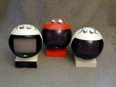 JVC 3240 Videosphere Television, Japan 1970