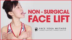 Facial Exercises - Non Surgical Facelift With Face Yoga Massage Facial, Facial Yoga, The Face, Face And Body, Anti Rides Yeux, Sagging Face, Face Yoga Exercises, Face Exercises Cheeks, Yoga Moves