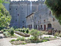 France, Bouches-du-Rhône, Tarascon-sur-Rhône, Jardin du Château