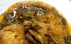 Μπακαλιάρος με μυρωδικά χόρτα στην κατσαρόλα - iCookGreek