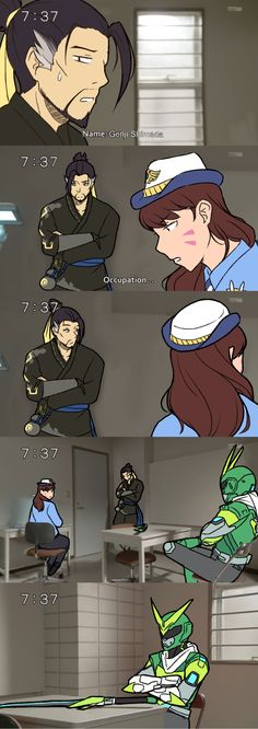 Genji caught for being a Kamen Rider | Overwatch | Know Your Meme