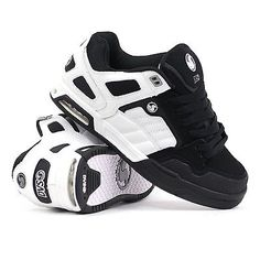 New DVS Throttle Skateboard Skate Shoes - White/Black Nubuck - All Sizes