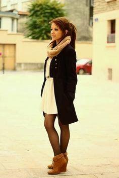 Latest cute teens winter outfits | Fashion World