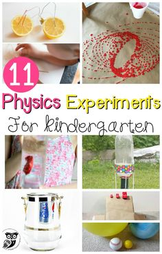 What awesome science experiments for learning forces and motion! Introduce children to a lifelong love of science, math, and physics with these simple physics experiments for kids!