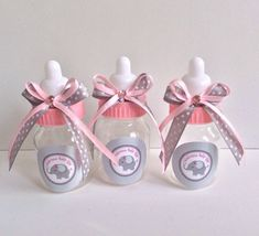 Baby Elephant girl baby shower favors by Marshmallowfavors
