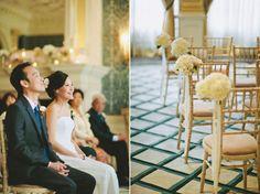 Monique Lhuillier Modern Elegance for a London Wedding at Claridge's | Love My Dress® UK Wedding Blog