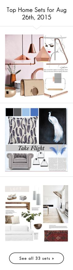 """Top Home Sets for Aug 26th, 2015"" by polyvore ❤ liked on Polyvore featuring interior, interiors, interior design, home, home decor, interior decorating, Zuo, Chloé, CB2 and Tom Dixon"