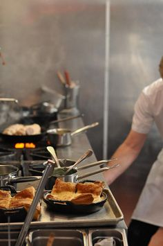 10 Downing Food & Wine Restaurant: kitchen by shunafish, via Flickr