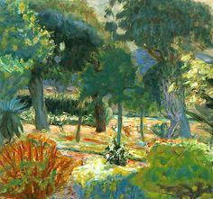 Garden in Southern France (Le Jardin dans le Var) - Pierre Bonnard