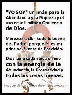 ORACIONES MILAGROSAS: Oración poderosa Abrecaminos para la Abundancia Ec...