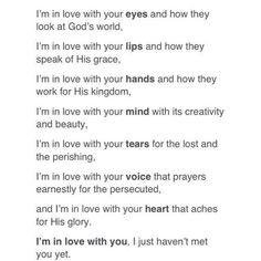 message to my future husband