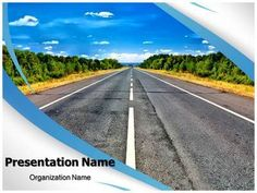 Isolated Road Powerpoint Template is one of the best PowerPoint templates by…