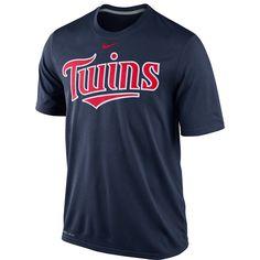 Minnesota Twins Legend Short Sleeve Wordmark T-Shirt