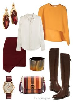 """""""Mahalo"""" by aakiegera on Polyvore featuring мода, Marni, Tory Burch, UGG, Robert Lee Morris, Citizen, Gas Bijoux и Chloé"""