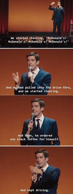 When his dad was simultaneously the cruelest and the best dad ever: | Community Post: 15 Times John Mulaney Was The Funniest Man In America