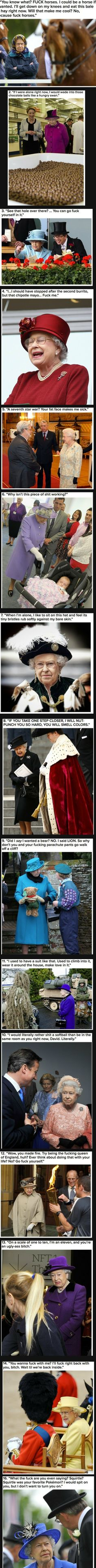 Queen of England can reck your shit  // funny pictures - funny photos - funny images - funny pics - funny quotes - #lol #humor #funnypictures
