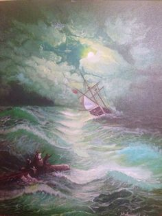 New and Used Arts & crafts for Sale in San Antonio, TX - OfferUp Craft Sale, Arts And Crafts, Journey, Paintings, Oil, Night, Paint, Painting Art, The Journey