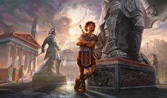 Kytheon, Hero of Akros. #MagicOrigins #Spellslingers #MTG #geekandsundry