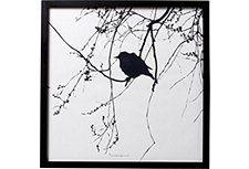 Bild mit Rahmen, Bloomingville, 50/50 cm