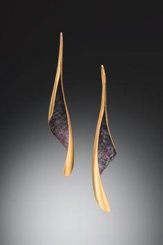 Michael Good - Larkspur earrings