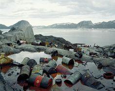 """'Ikerasak, Qarajaqs Icefjord 1, 07/2005 70° 29'46"""" N, 51° 18'14"""" W.' © Olaf Otto Becker. Image courtesy of Huxley-Parlour Gallery."""