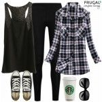 Frugal Fashion Friday Plane Outfit for Travel