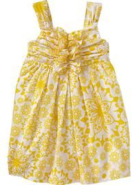 Floral-Print Poplin Dresses for Baby  LP? Then use for her birthday.
