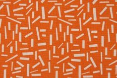 Premier Prints Sprinkles Cotton Drapery Fabric in  Gumdrop Orange/Natural $7.48 per yard-for the martha chair