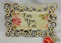 Placa Decorativa Lar Doce Lar