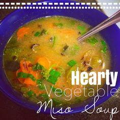 Alexa Eats Clean: ULTIMATE RESET RECIPE: Hearty Vegetable Miso Soup