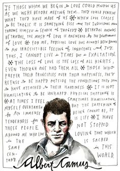 Albert Camus on Happiness and Love, Illustrated by Wendy MacNaughton – Brain Pickings