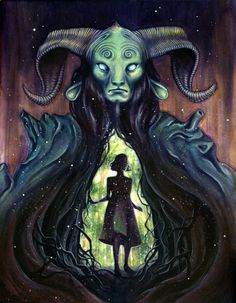 Kelly McKernan. Pan's labyrinth!!!!! Is my favorite movie ever!! And this picture shows why