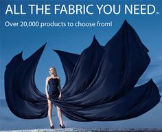 What can you purchase from Michael Levine fabric stores?