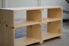 diy shelves for attic - Building Furniture, Diy Furniture, Diy Wood Projects, Home Projects, Home Crafts, Diy Home Decor, Decoration, Book Shelf Diy, Book Shelves