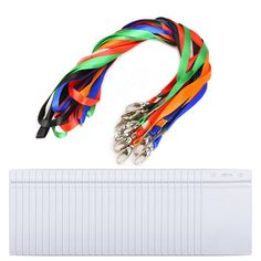 Outus Clear ID Card Holder Name Tags Badge Holder with Colorful Neck Lanyard, Waterproof, 30 Pieces -- Awesome products selected by Anna Churchill