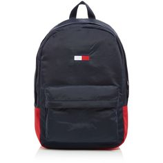 Tommy Hilfiger Tommy Flag Backpack (350 BRL) ❤ liked on Polyvore featuring men's fashion, men's bags, men's backpacks, bags & luggage mens bags and mens backpack