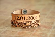 Braided Personalized Leather Bracelet. Couples Bracelet. Custom Bracelets. Couple necklace. Personalized couples jewelry. Best Friend (026) on Etsy, $9.00