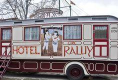 Dormir en una suite ¡en el circo!