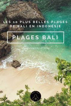 Plages Bali - Les 10 plus belles plages de l'île de Bali en Indonésie