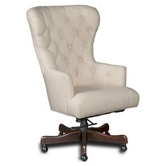 Shop For The Hooker Furniture Executive Seating Larkin Oat Home Office Chair At Belfort