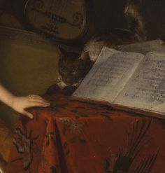 Marguerite Gérard: Prelude to a concert. 1810. Details.