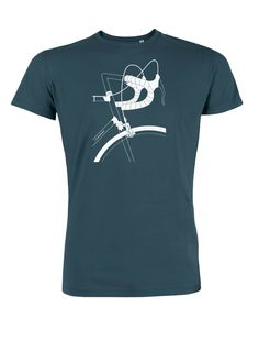 Das T-Shirt haben wir für alle Single Speed, Rennrad oder Fixie Fans oder die es noch werden wollen in unserer typischen Bio Fair-Wear Qualität bedruckt Das Männershirt ist zu 100 % aus fair...