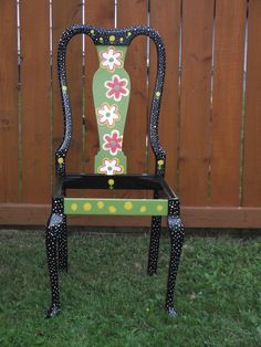 Funky garden planter chairs made in Halifax!