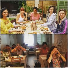 Reposting @drvaralakshmi: Moments from my #ayurveda teaching in #paris. Outdoor lunch and students practising pranayama  #wellbeing #ayurvedaeveryday #teaching #learning #learnveda #health