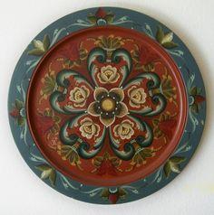 Norwegian Rosemaling Patterns | Norwegian Rosemaling Designs